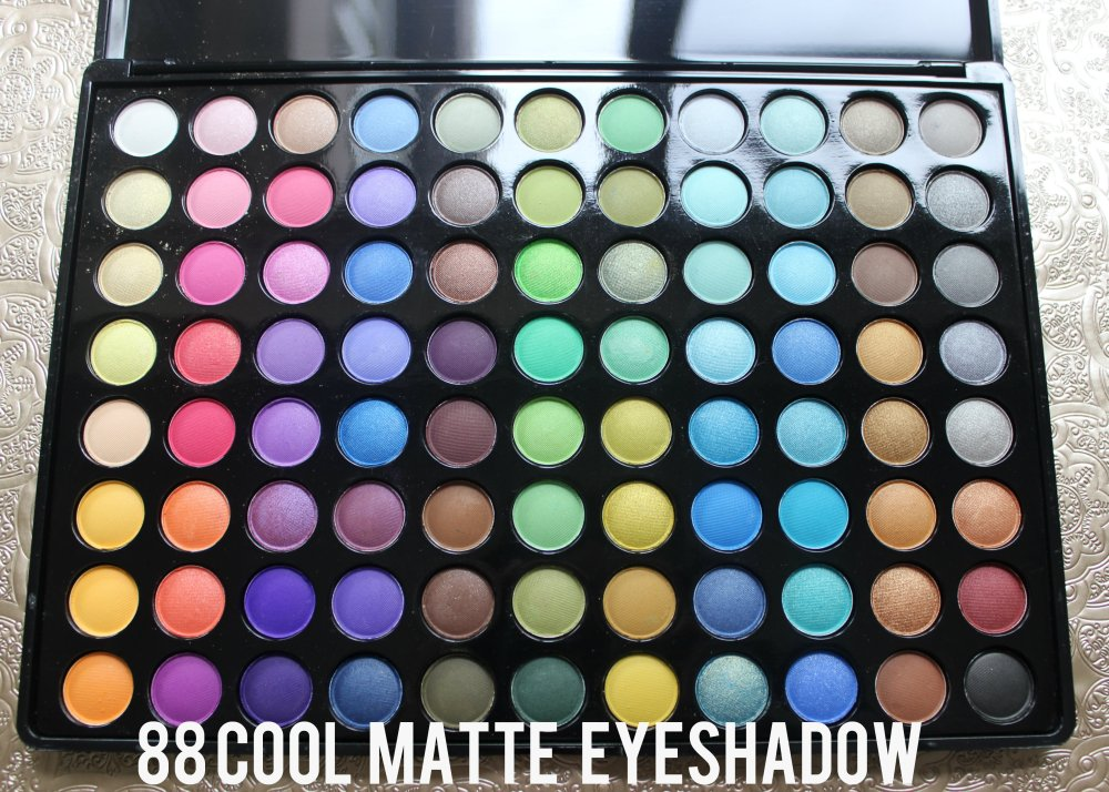 88 cool matte eyeshadow palette