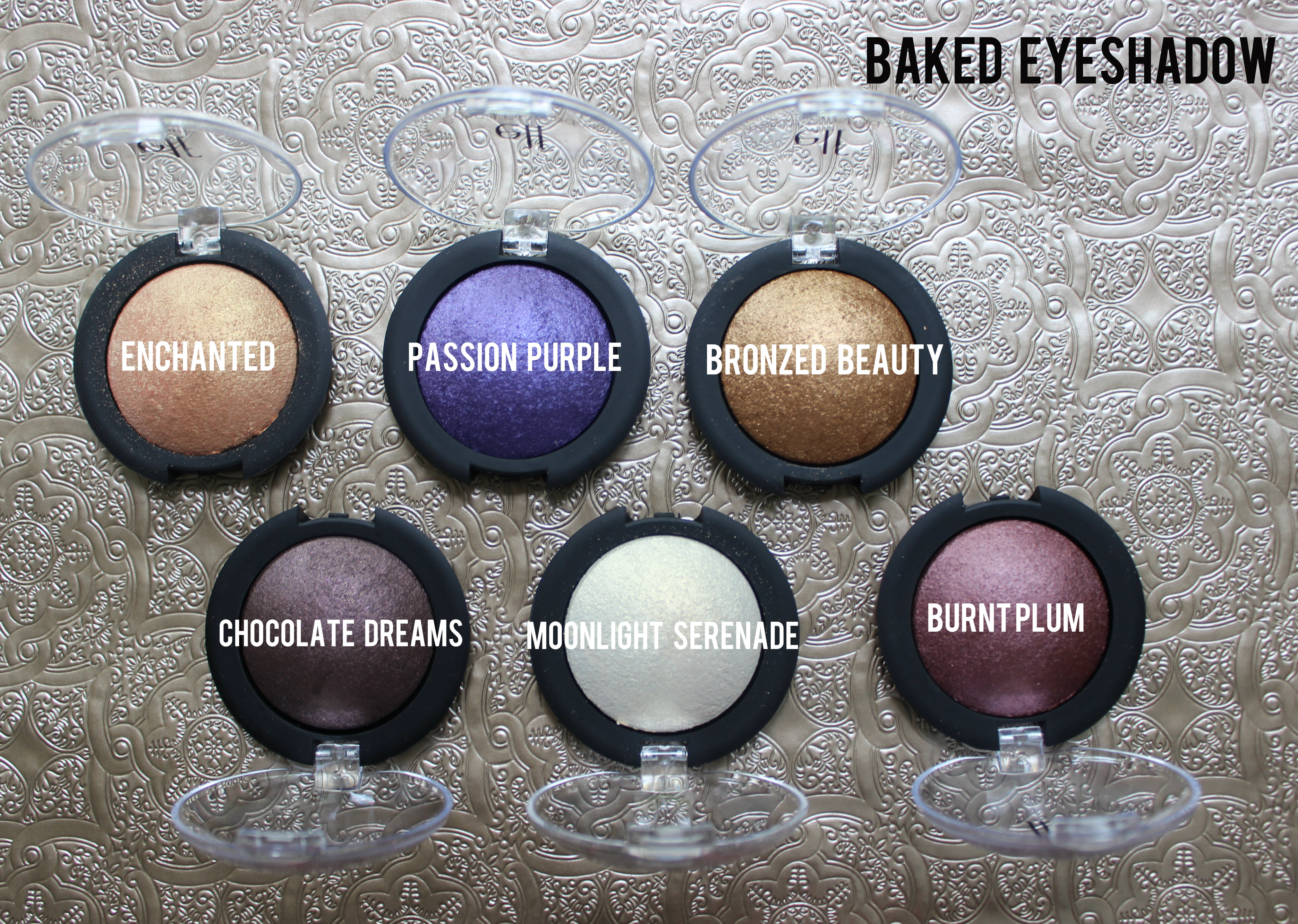 how to wear baked eyeshadow