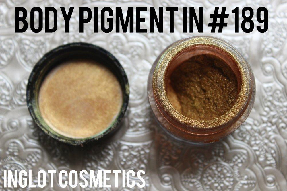 body pigment 189