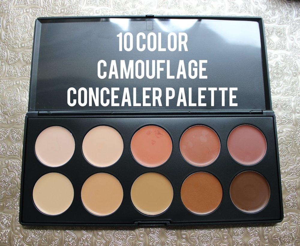 10 Color Camouflage Concealer Palette