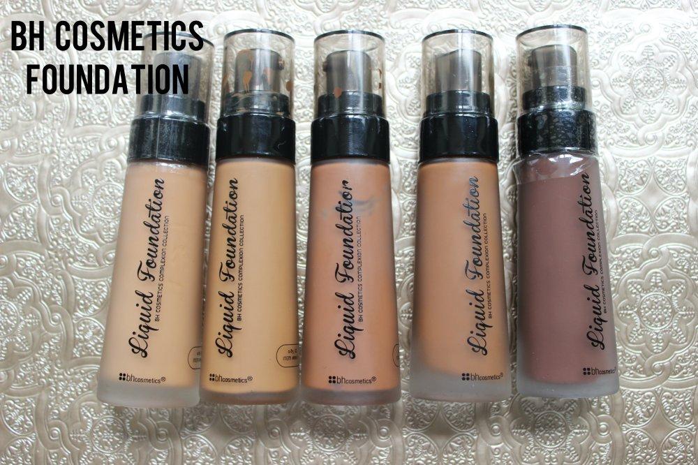 BH Cosmetics Foundations